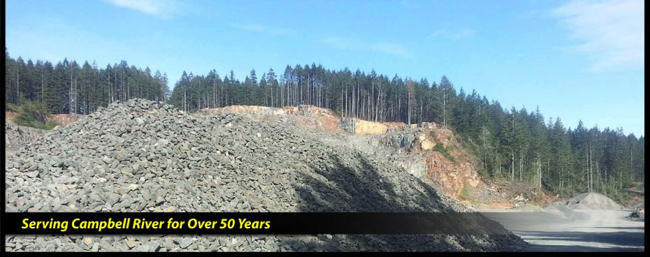 Serving Campbell River for Over 50 Years | rocks
